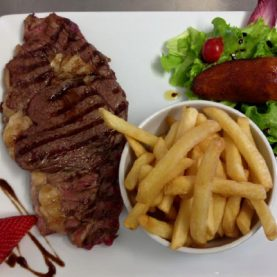 Entrecote frites / Steak and chips